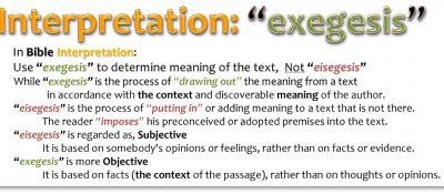 INTERPRETATION_EXEGESIS