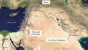 UR TO HARAN TO CANAAN